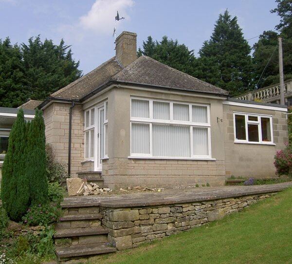 Original 1950s bungalow