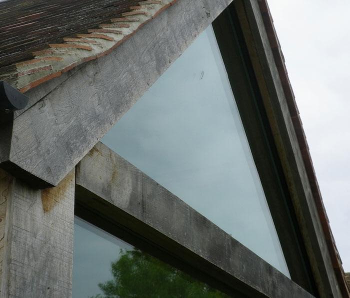Glass detail