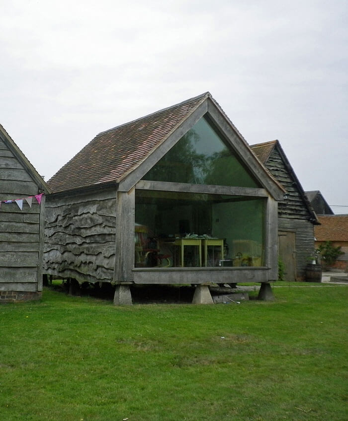 Granary office exterior